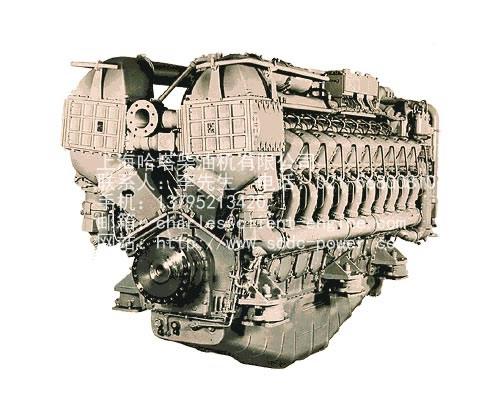 ENGINE MOTOR -MTU ENGINE|1163 series