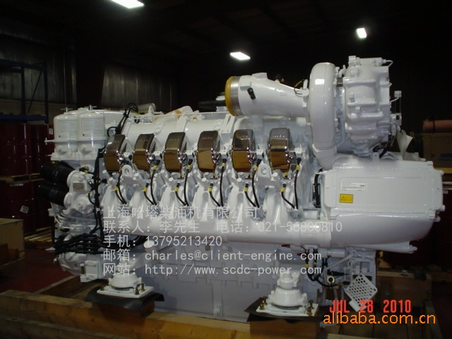 ENGINE MOTOR -MTU ENGINE